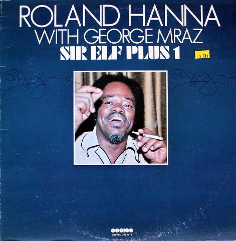 "Roland Hanna With George Mraz Vinyl 12"""