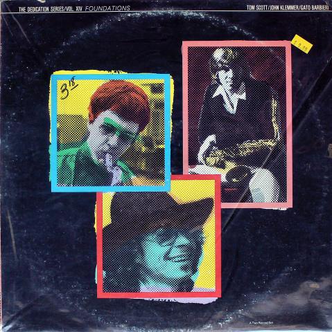 """Tom Scott / John Klemmer / Gato Barbieri Vinyl 12"""""""