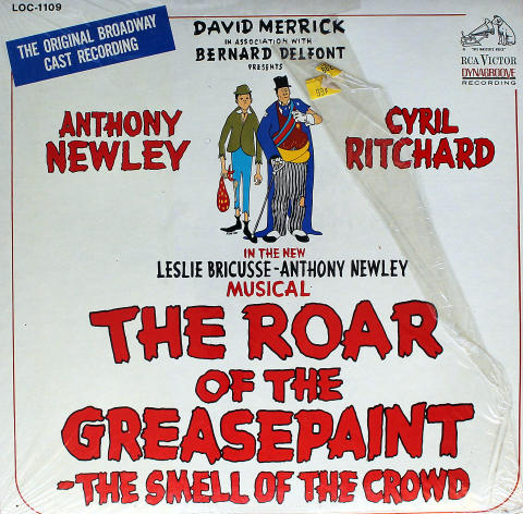 """The Roar Of The Greasepaint - The Smell Of The Crowd Vinyl 12"""""""