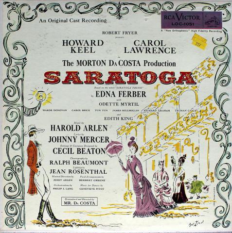 "Saratoga Vinyl 12"""