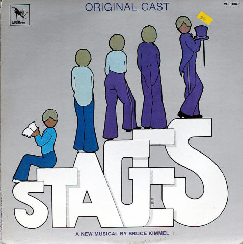 """Stages: A Musical Comedy Vinyl 12"""""""