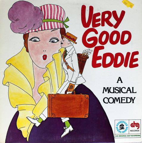 "Very Good Eddie: A Musical Comedy Vinyl 12"""