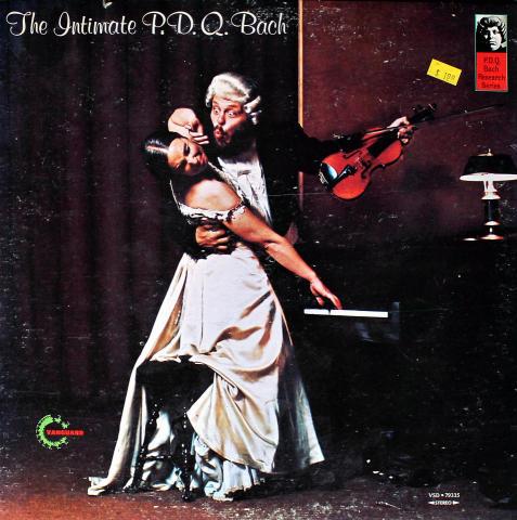 "The Intimate P.D.Q. Bach Vinyl 12"""