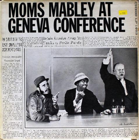 "Moms Mabley Vinyl 12"""