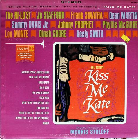 """Cole Porter's: Kiss Me Kate Vinyl 12"""""""