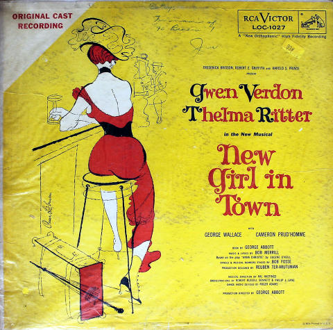 The New Musical: New Girl In Town Vinyl 12""