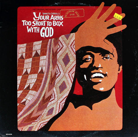Vinnette Carroll's: Your Arms Too Short To Box With God Vinyl 12""