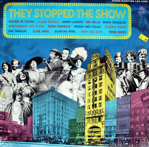 """The Stopped The Show Vinyl 12"""""""