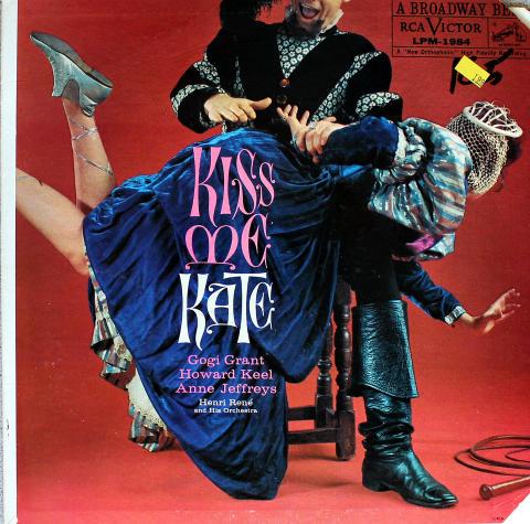 """Cole Porter: Kiss Me Kate Vinyl 12"""""""