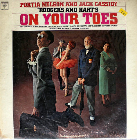Rodgers And Harts: On Your Toes Vinyl 12""