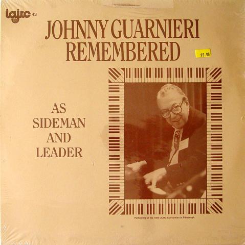 "Johnny Guarnieri Vinyl 12"""