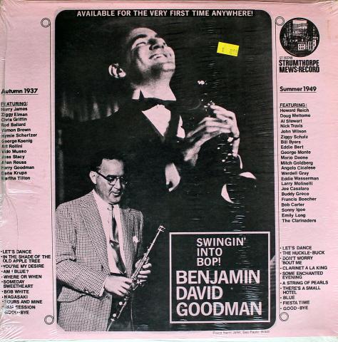 "Benjamin David Goodman Vinyl 12"""