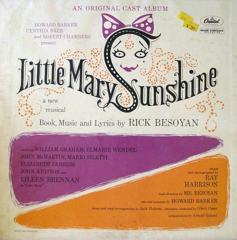 "Little Mary Sunshine Vinyl 12"""
