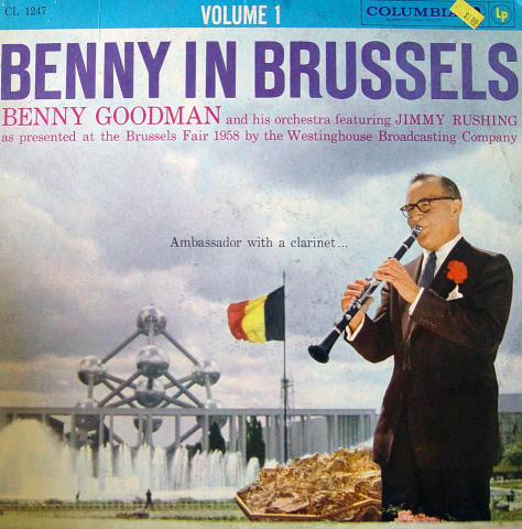 "Benny Goodman And His Orcherstra Vinyl 12"""