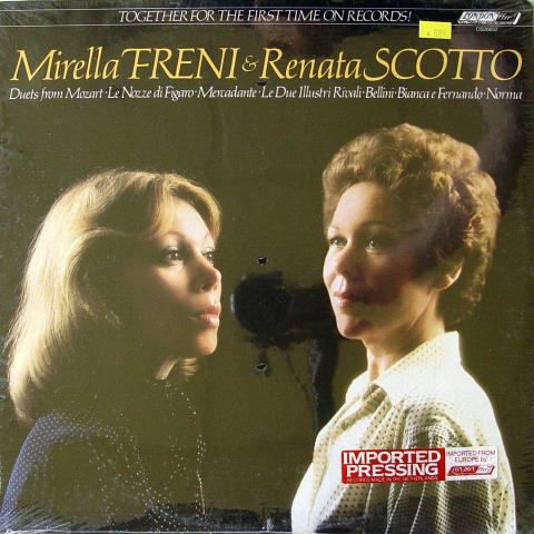 Mirella Freni & Renata Scotto Vinyl 12""