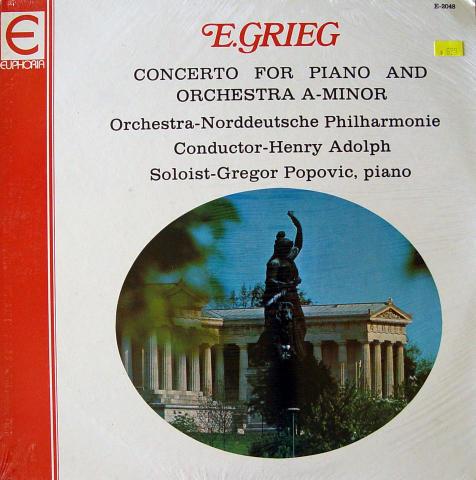 """Edvard Grieg Vinyl 12"""""""