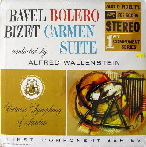 """Alfred Wallenstein Vinyl 12"""""""