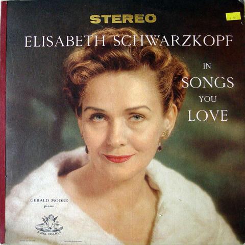"Elisabeth Schwarzkopf Vinyl 12"""