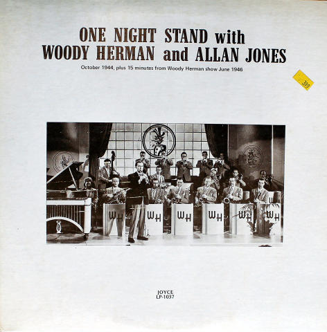 Woody Herman And The Las Vegas Herd Vinyl 12""