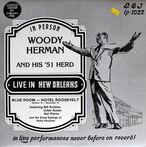 """Woody Herman And His '51 Herd Vinyl 12"""""""