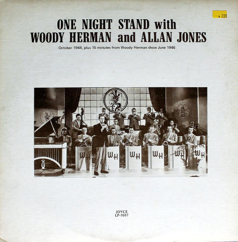 "Woody Herman And Allan Jones Vinyl 12"""