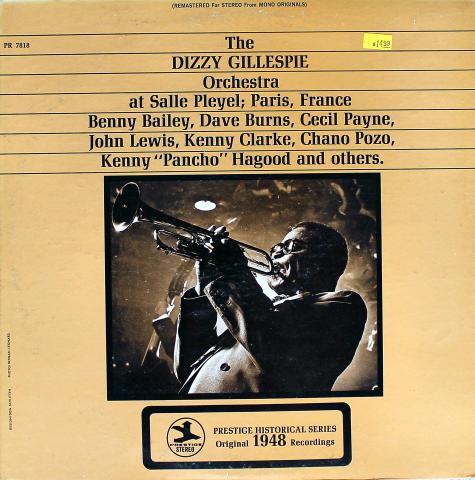 """Dizzy GIllespie Orchestra Vinyl 12"""""""