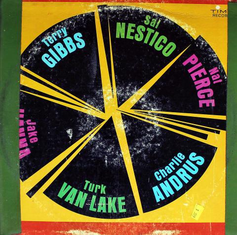 "Sal Nestico, Nat Pierce, Charlie Andrus, Turk Van Lake, Jake Hanna, Terry Gibbs Vinyl 12"""
