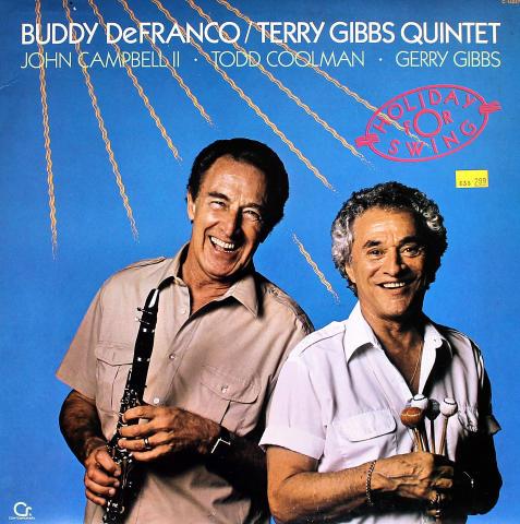 "Buddy DeFranco/Terry Gibbs Quintet Vinyl 12"""