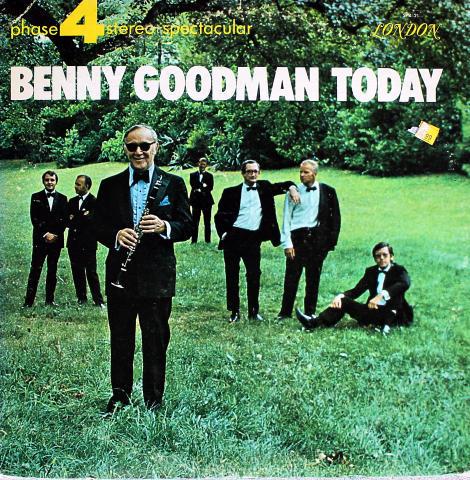 "Benny Goodman Orchestra Vinyl 12"""