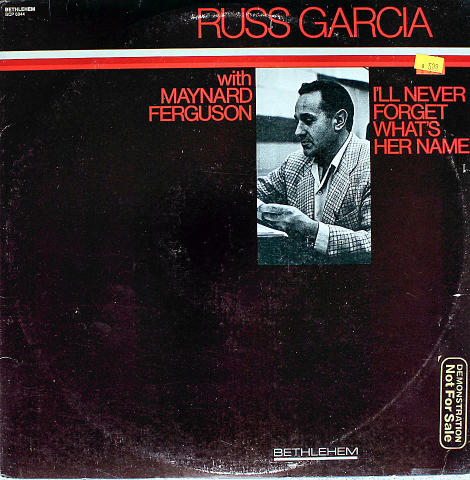 "Russ Garcia Vinyl 12"""