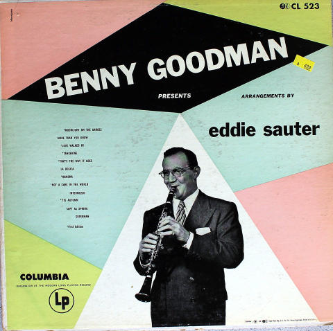 "Benny Goodman Presents Eddie Saunter Vinyl 12"""