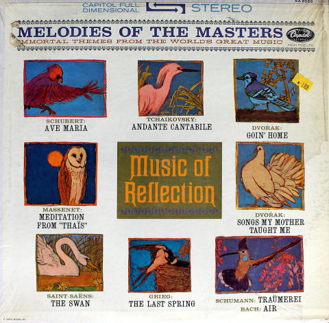 """Melodies Of The Masters - Vol. VI: Music Of Reflection Vinyl 12"""""""