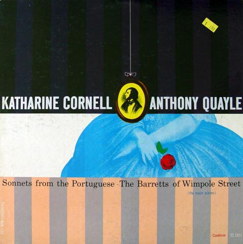 "Katharine Cornell Vinyl 12"""