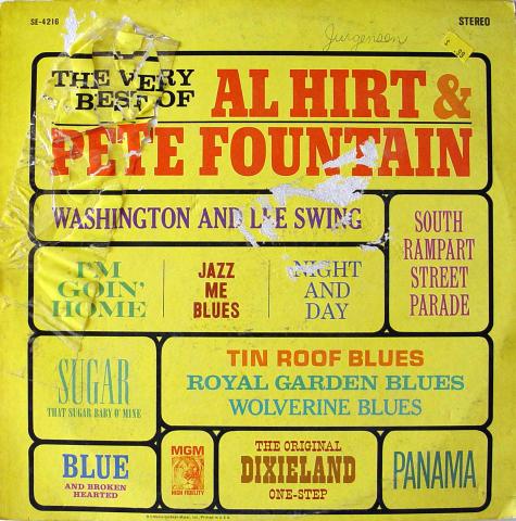 "The Very Best Of Al Hirt & Pete Fountain Vinyl 12"""