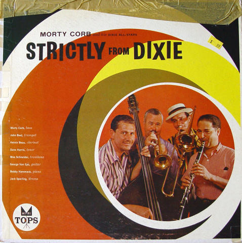 Morty Corb And His Dixie All-Stars Vinyl 12""