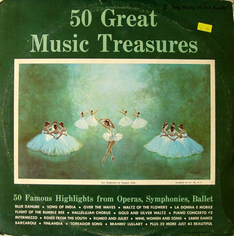 50 Great Music Treasures Vinyl 12""