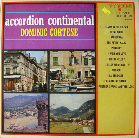 "Dominic Cortese Vinyl 12"""