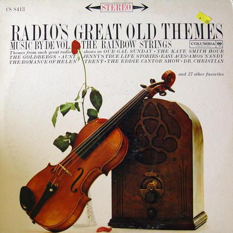 "Frank De Vol And His Rainbow Strings Vinyl 12"""