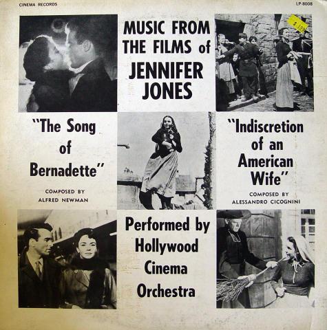 """Music From The Films Of Jennifer Jones Vinyl 12"""""""
