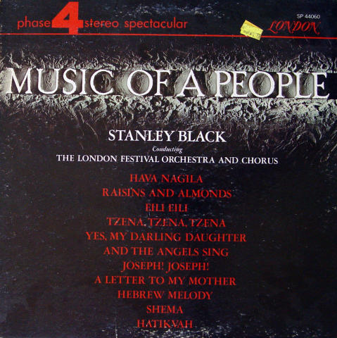 """Stanley Black Conducting The London Festival Orchestra And Chorus Vinyl 12"""""""
