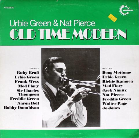 "Urbie Green & Nat Pierce Vinyl 12"""