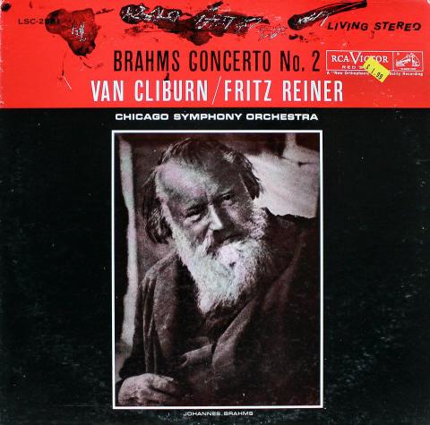 """Van Cliburn / Fritz Reiner Vinyl 12"""""""