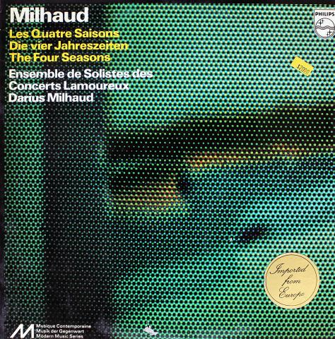"""Darius Milhaud Vinyl 12"""""""