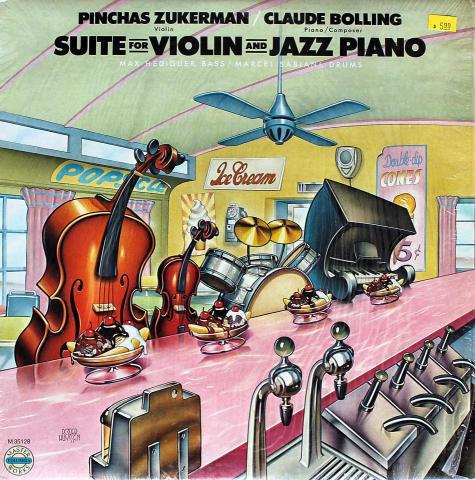 "Pinchas Zukerman / Claude Bolling Vinyl 12"""