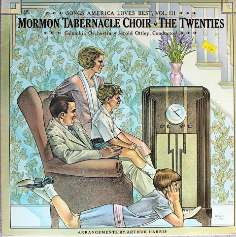 "Mormon Tabernacle Choir Vinyl 12"""
