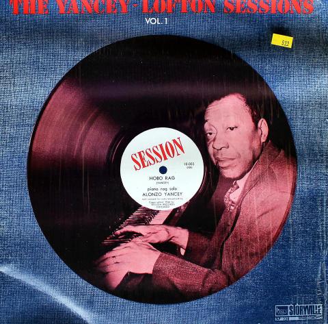 """Alonzo Yancey / Jimmy Yancey / Clarence Lofton Vinyl 12"""""""