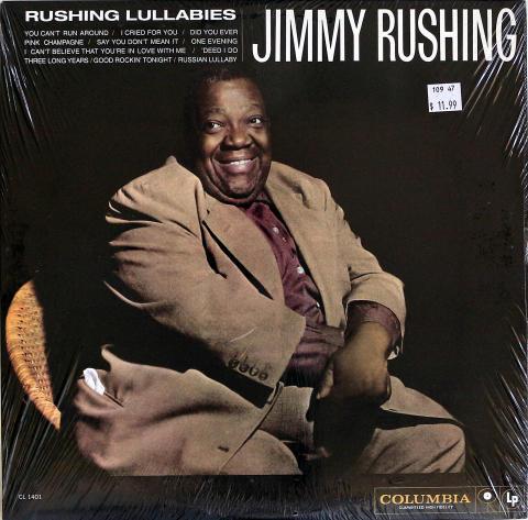 "Jimmy Rushing Vinyl 12"""
