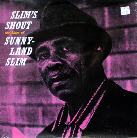 """Sunnyland Slim Vinyl 12"""""""