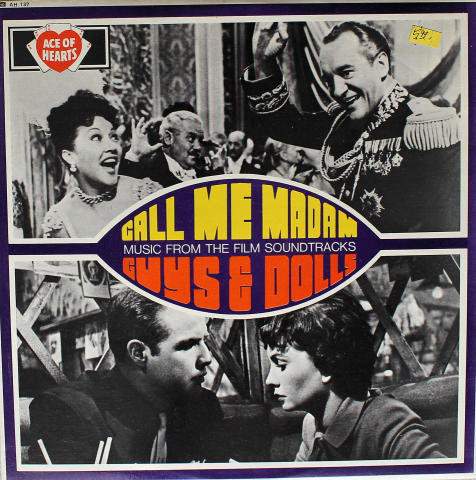 "Call Me Madam / Guys & Dolls Vinyl 12"""