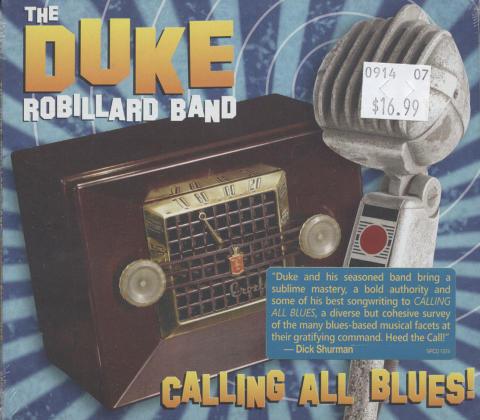 Duke Robillard Band CD